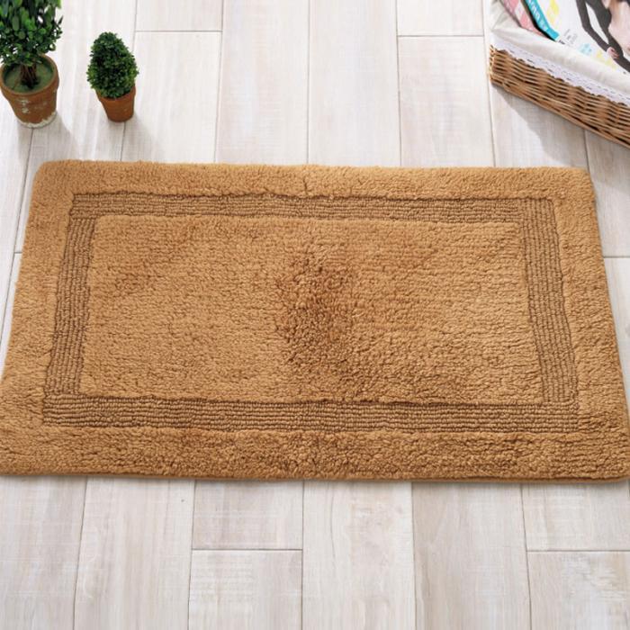 Mode Fußmatten Baumwolle Einfarbig Anti Slip Teppiche Bequemen ...