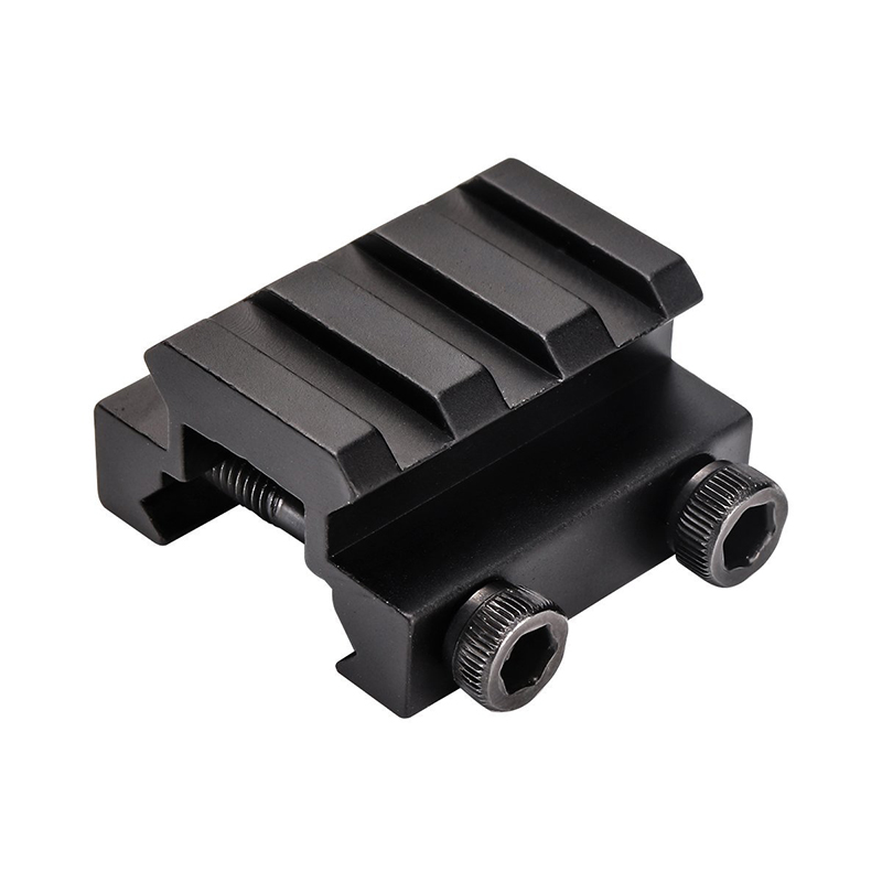 Tactical 3 Slot Ring 20mm Riser Weaver Picatinny Rail Base Adapter Mount Rifle Scope Gun Airgun Pistol Airsoft Hunt Laser Base