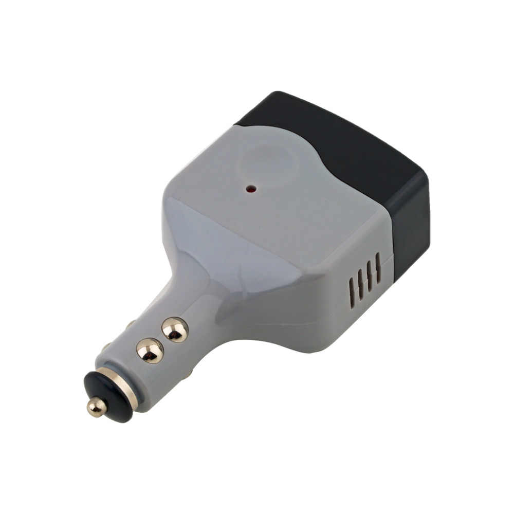 1Pc DC 12V to AC 220V Auto Car Power Converter Inverter Adapter Charger With USB Charge Newest