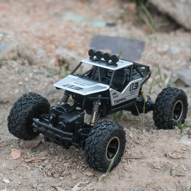 Jouets pour enfants adultes 1:16 4 canaux 4WD 2.4G haute vitesse pistolet type télécommande RC dérive escalade voiture de fond jeep enfants cadeau - 2