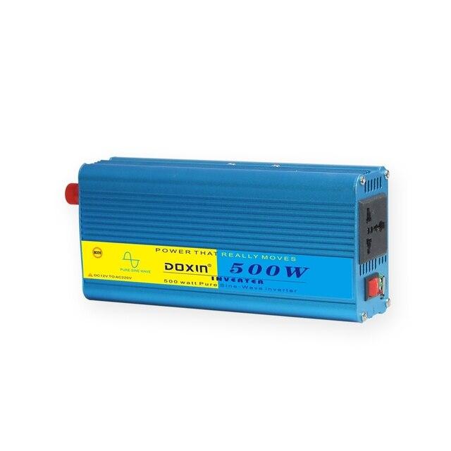 Universale 500 W Car Inverter Portatile 12 V a 220 V Inverter di Potenza 12 v 220 v Inverter di Potenza del Convertitore caricatore di alimentazione USB