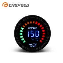 """CNSPEED """" 52 мм Автомобильный 12 В датчик температуры воды 40-120 Цельсия с датчиком ЖК-цифровой автомобильный измеритель температуры воды YC101341"""