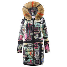CHAMSGEND 2018 Coat Female Womens Winter Long Down Cotton Ladies Parka Hooded Co