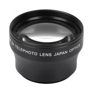 Image 3 - New 2X Magnification High Definition Converter Telephoto Lens for 37mm Mount Camera Converter