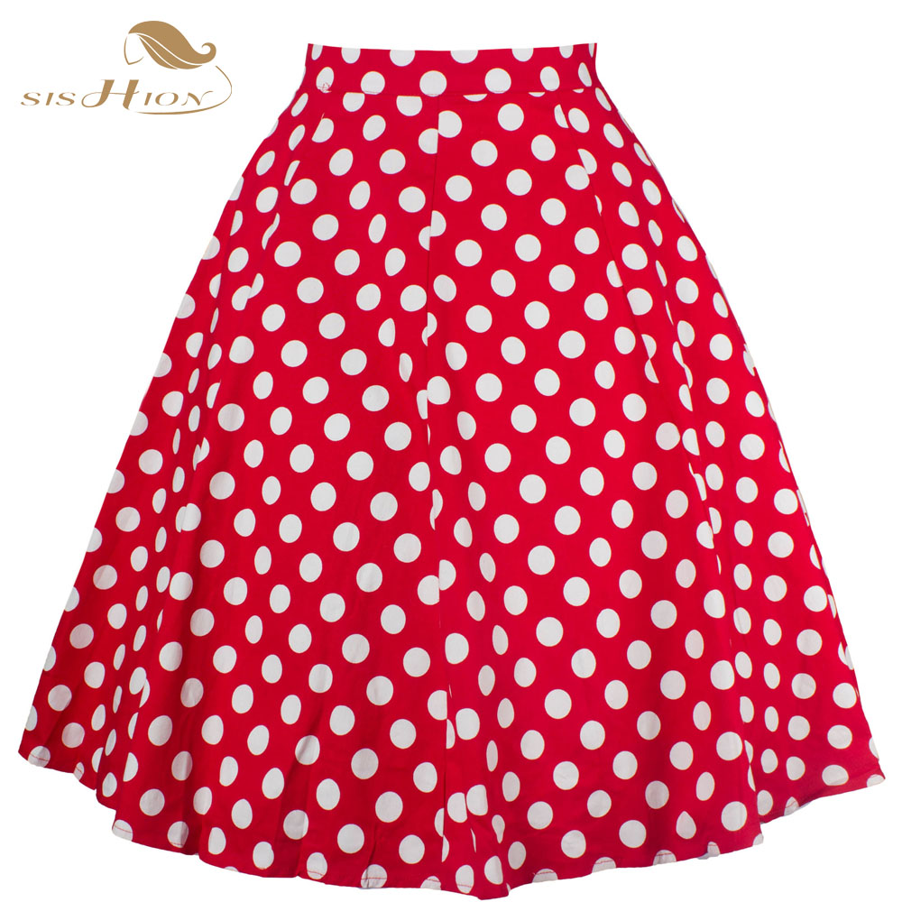 Online Buy Wholesale red polka dot skirt from China red polka dot ...