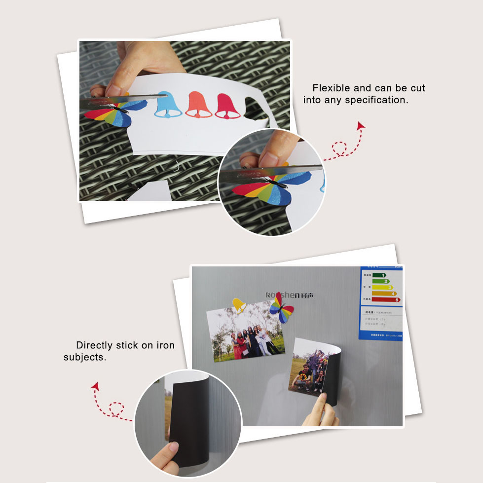 5pcs/lot A4 Magnetic Photo Paper Printable Sheet Fridge Magnets Sticker Inkjet Magnet Picture Paper Matte Finish Printer Paper