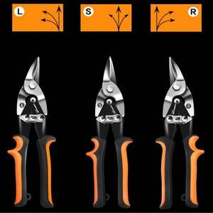 Image 2 - LOMVUM Metal Sheet Cutting Scissor Pvc Pipe Cutter Professional Industrial Shears Iron Scissors Multi purpose Scissors Tin Snips