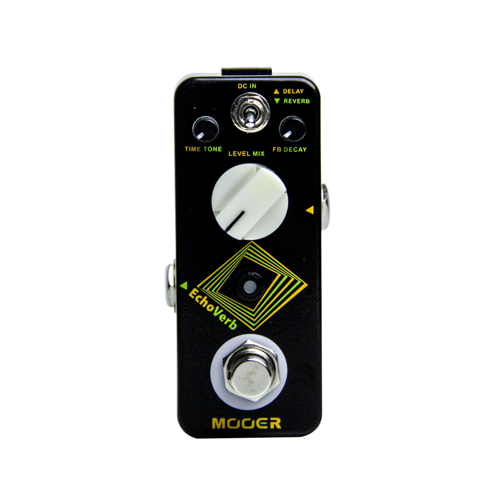 MOOER ECHOVERB Digital Delay recerb pedal guitar pedal high quality reverb and digital delay into one small pedal брюки джинсы и штанишки s'cool брюки для девочки hip hop 174059
