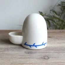 Lovebirds миски для воды Cockatiel подачи воды Керамика поилка Попугай подачи птиц Budgie чашки вольари