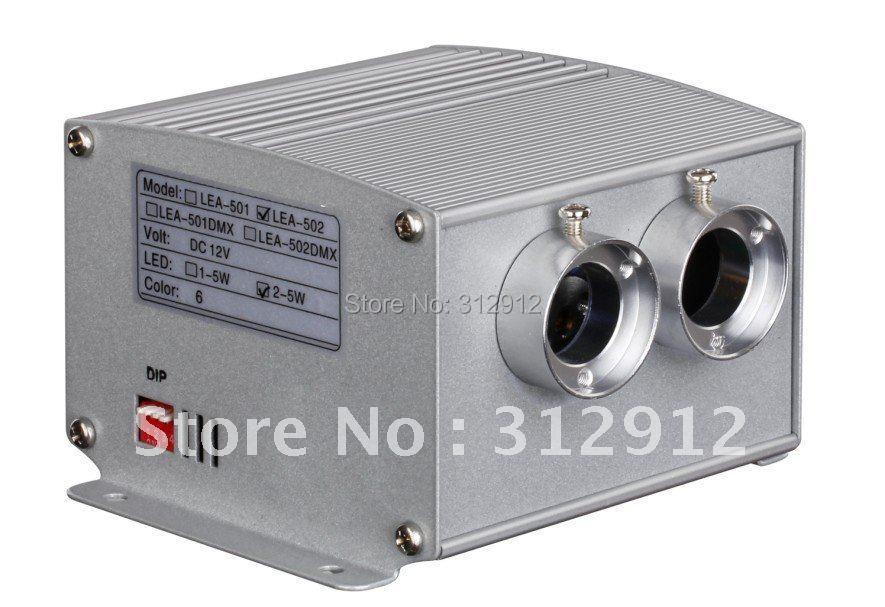 LEA 502DMX; 5*2 Вт светодиодный световой двигатель с пультом дистанционного управления; с функцией dmx