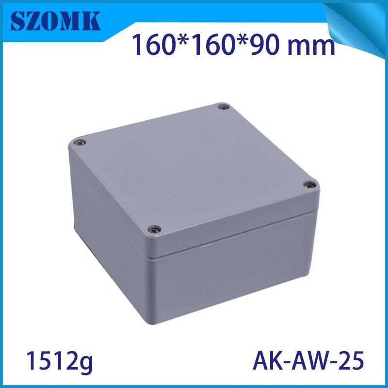 Aluminum waterproof box electric die cast aluminum junction box szomk aluminum waterproof enclosure for pcb design aluminum case 122 45 110mm w h l aluminum enclosure for pcb case wall mounting aluminum box aluminum extursion box junction box