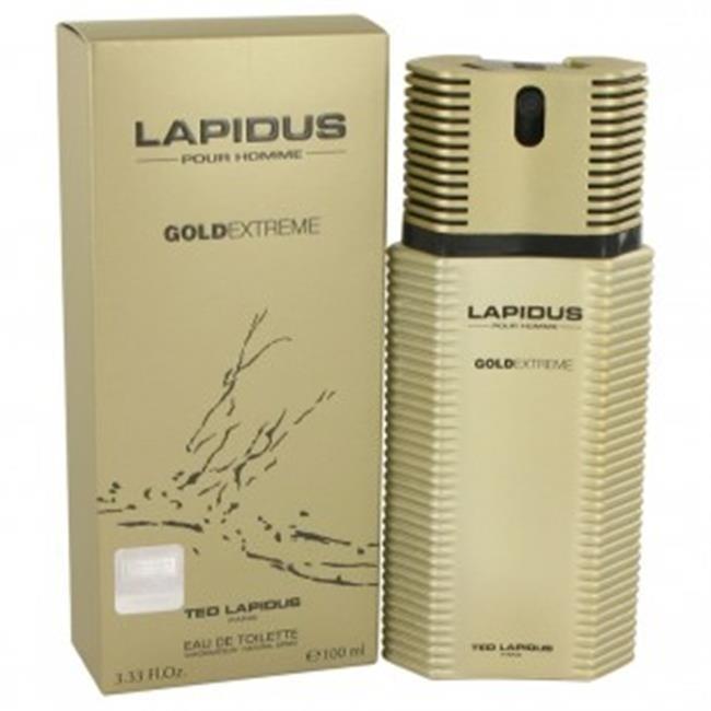 Ted Lapidus 535380 3.4 oz Eau De Toilette Spray for Men