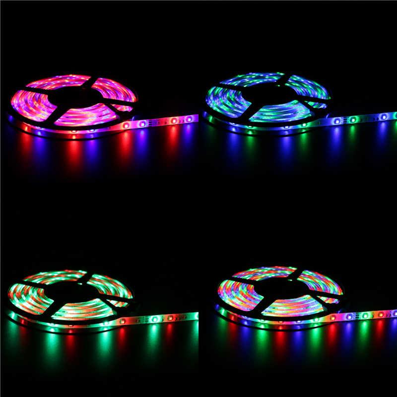 2835 bande de LED 120 LED s/m DC12V bande de LED Flexible blanc chaud rouge bleu LED clair 5 m/paquet bande.