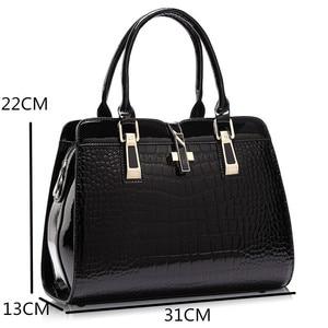 Image 5 - Women Messenger Bags Casual Tote Femme Fashion Luxury Handbags Women Bags Designer Pocket High quality Handbags bags