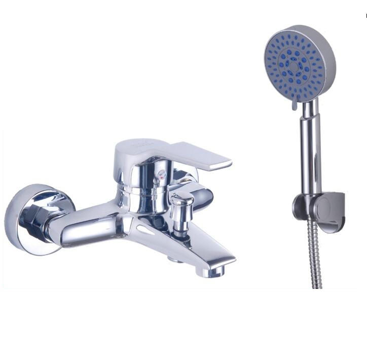 Free shipping Bath mixer tap single handle exposed install ...