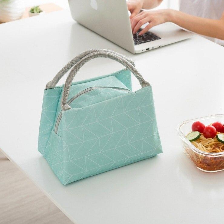 0c1cc39f8 Nueva moda almuerzo Bolsas impermeable aislamiento portátil Paquetes aislar  el calor Bolsas ir para una EAL más gruesos con arroz bolsas