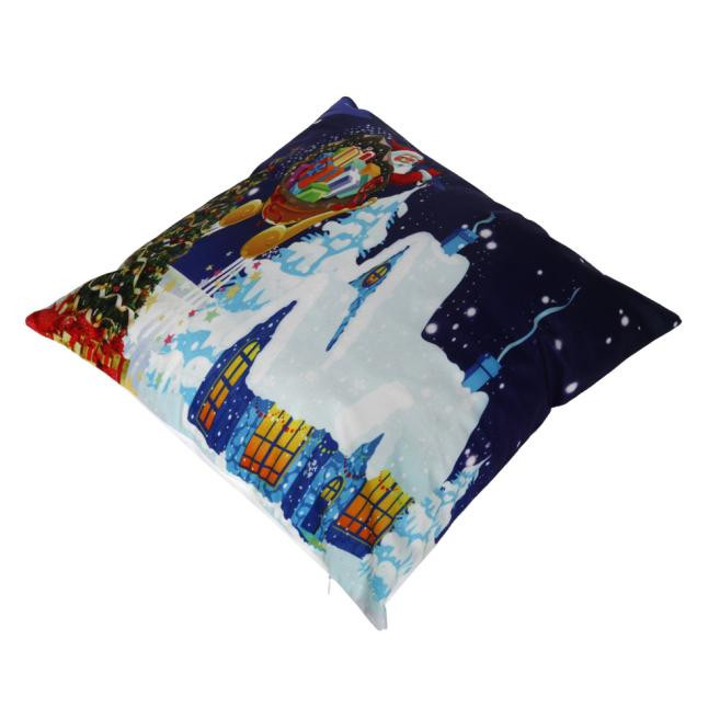 2017 hot sale Christmas Santa Claus Pillow Case Sofa Waist Throw Cushion  Cover Home Decor car Seat Supports very nice. Nice Sofas Sale Promotion Shop for Promotional Nice Sofas Sale on