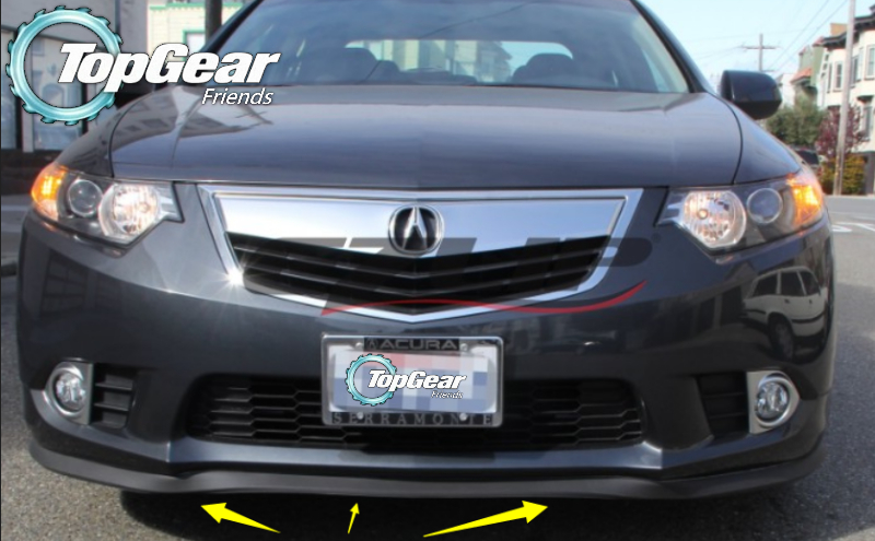 For Acura TSX 2003~2015 Bumper Lip Lips / Front Spoiler For TOP GEAR on scion xa front lip, chrysler crossfire front lip, lincoln ls front lip, saturn ion front lip, nsx front lip, mitsubishi eclipse front lip, pontiac solstice front lip, hyundai genesis coupe front lip, pontiac grand prix front lip, toyota yaris front lip, ford fusion front lip, porsche boxster front lip, infiniti m35 front lip, toyota matrix front lip, cadillac cts front lip, nissan 240sx front lip, volkswagen cc front lip, mitsubishi lancer gts front lip, acura rsx type s front lip, mazda 5 front lip,