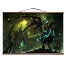 Illidan World of  Warcrafts Stormrage poster