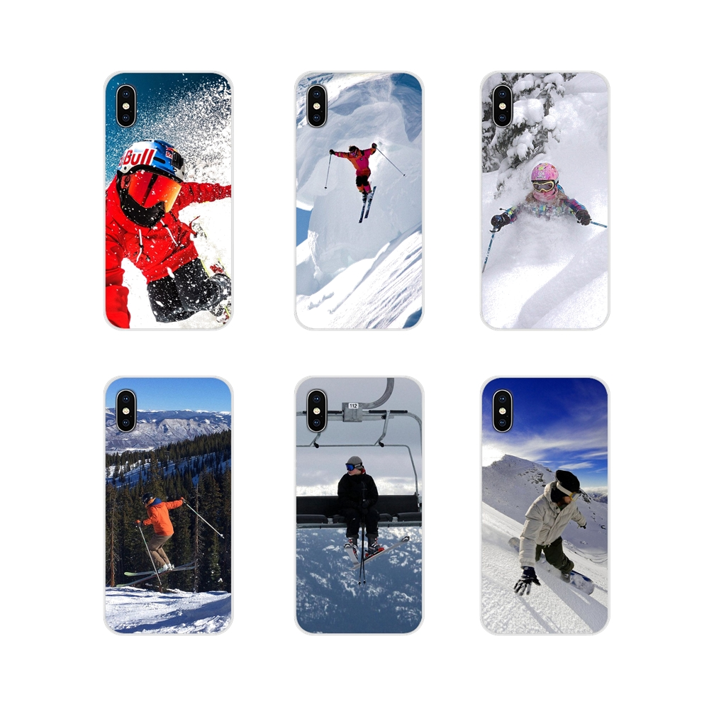 Snow Or Die Ski Snowboard Sport For Samsung Galaxy A5 A6S A7 A8 A9S Star J4 J6 J7 J8 Prime Plus 2018 Transparent Soft Skin Cover