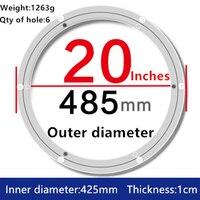 20 Inch 488mm Lazy Susan Aluminum Swivel Plate
