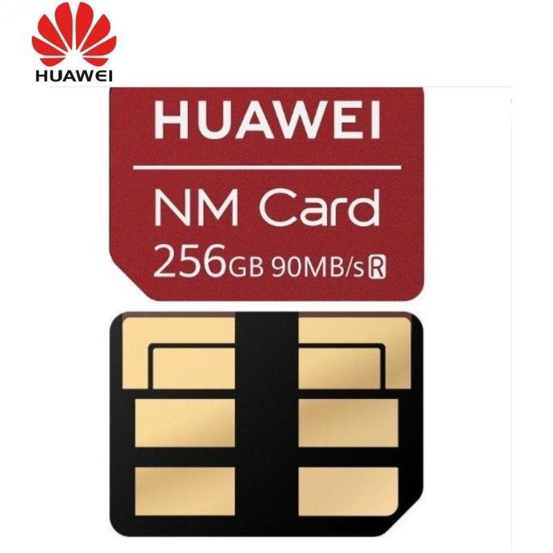 90 MB/s Velocidade 100% Original Para Huawei Companheiro 20/20 Pro/20X NM Cartão Nano 256GB Cartão de Memória