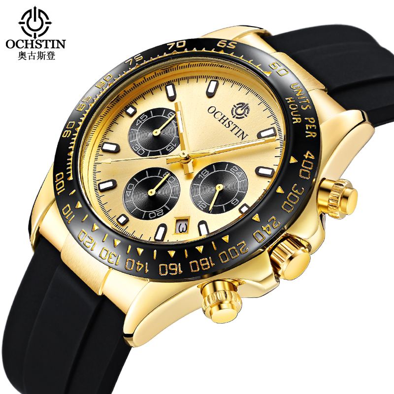 Men Watch OCHSTIN Top Luxury Brand Designer Quartz-watch Silicone Business Black Sport Military Quartz Watch Male Wristwatches watch men ochstin top luxury brand designer military quartz watch silicone business black sport quartz watch male wristwatch