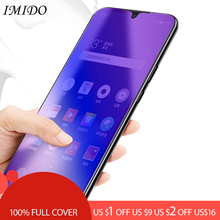 100% Full Coverage Anti Blue Screen Protector for OPPO F5 F7 F9 Anti-Blue Purple Light Tempered Glass Film for OPPO F9 Pro Film цена и фото