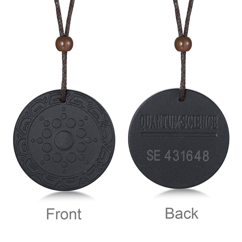 APL Volcanic Stone Pendant for Men 39 s Jewelry Varieties Stainless Steel Circular Energy Stone Pendant in Pendant Necklaces from Jewelry amp Accessories
