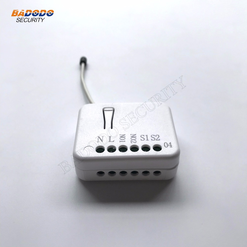 Tz04 Z Wave In Wall Dual Way Relay Switch2x15kwwith Power Meter Function Functionsupport Multi Channel Operation Building Automation From Security