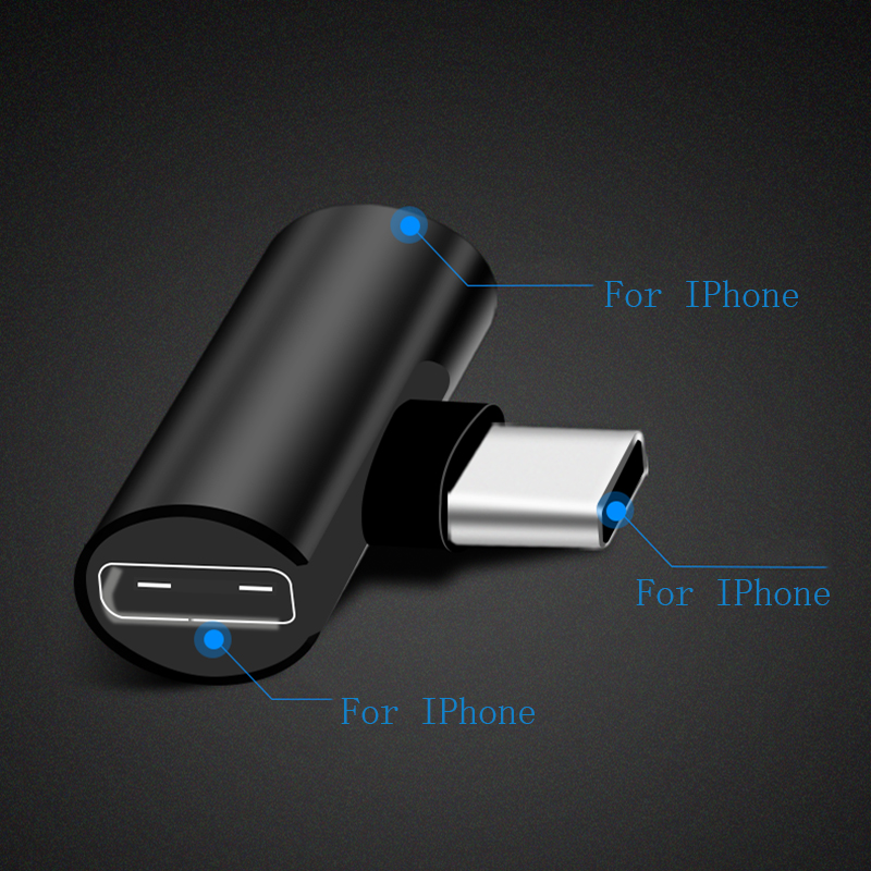 Thbelieve 4 in 1 Adapter For <font><b>Iphone</b></font> <font><b>7</b></font> 7plus Headphone Adapter Suitable For 8 8plus X XS Max Earphone Charging <font><b>Adaptor</b></font> For IOS 12 image