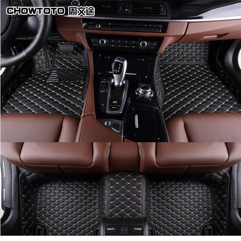 CHOWTOTO AA Custom Special Floor Mats For Hyundai Sonata Non Slip  Waterproof Carpet For Sonata Foot Mat Car Floor Mats