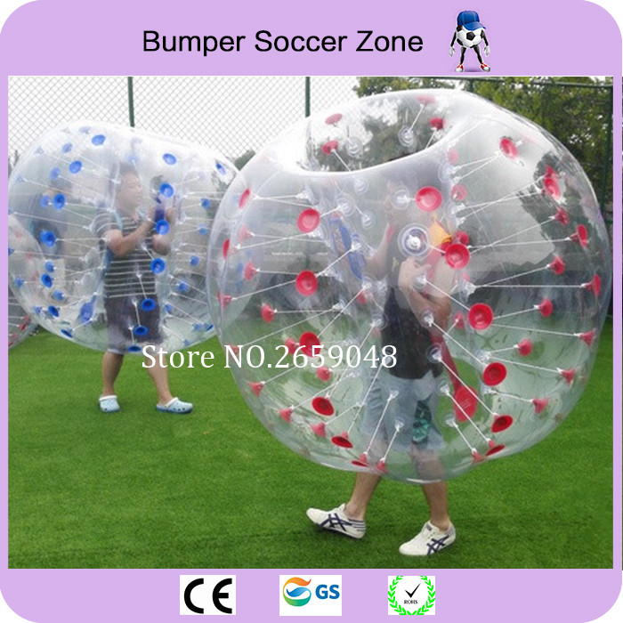Livraison Gratuite 1.5 m Bulle Ballon De Football Gonflable Boule De Butoir Bulle Football Bubble Ball Football Boule De Zorb À Vendre