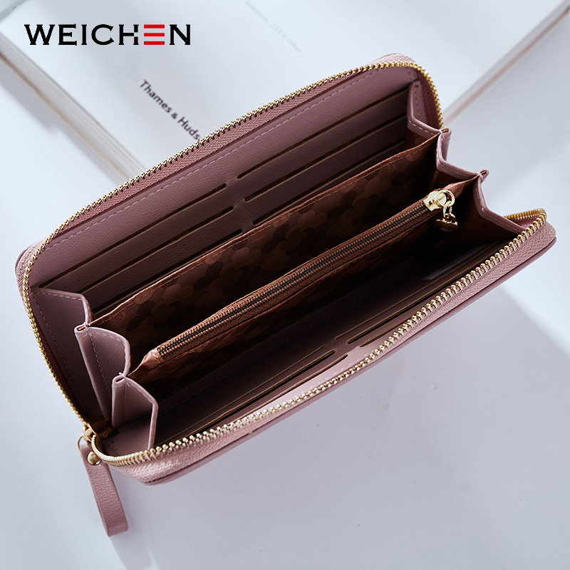 Women Long Clutch Wallet Large Capacity Wallets Female Purse Lady Purses Phone Pocket Card Holder Carteras 7