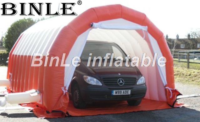 Customized 6x4x2 5m Temporay Car Shelter Car Garage Painting