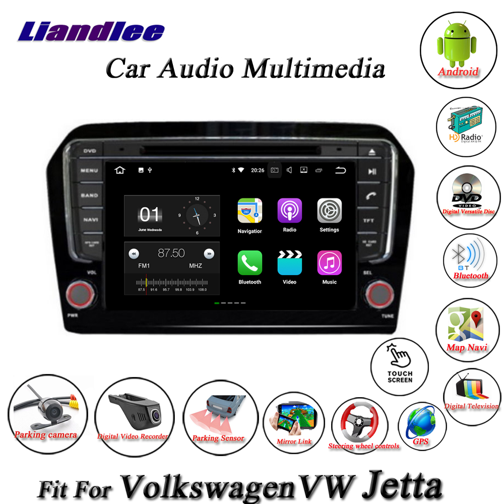 Liandlee Car Android System For Volkswagen VW Jetta 2013~2018 Radio CD DVD Player GPS Nav Navi Navigation HD Screen Multimedia