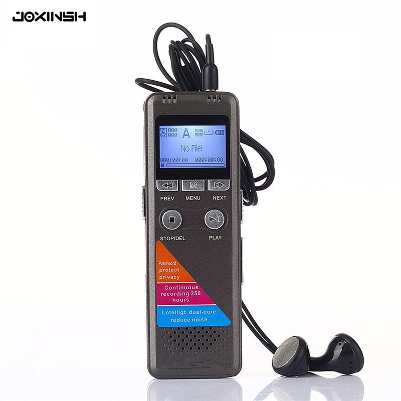 Pen High quality Mini Usb Digital Clean Sound Micro Audio Recorders 8GB Portable Mp3 Player Dictaphone