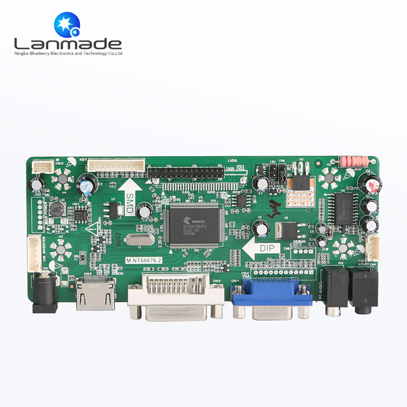 Monitor control board android pcba circuit pcb prototype uhd h 265 android 4k pcba assembly pcb circuit boards
