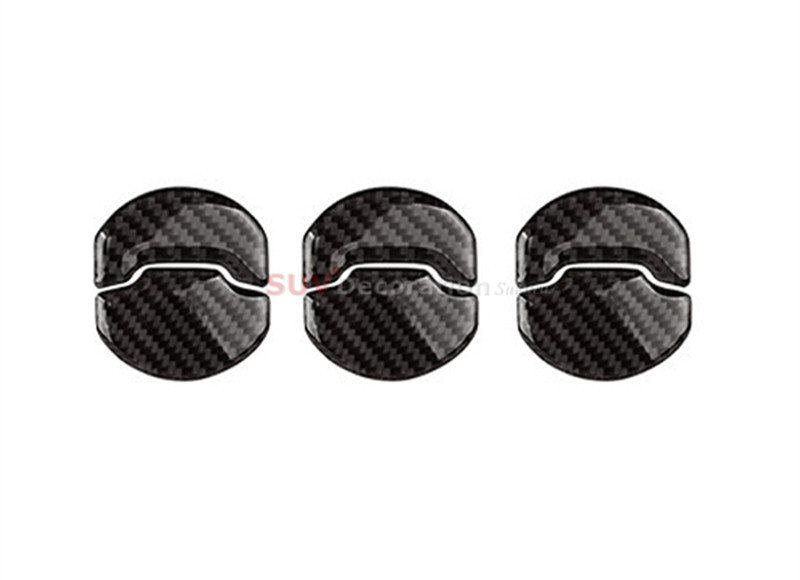 For Ford Mustang 2015 2016 True Carbon Air-condition Vent Decorative Cover Trim 6pcs ford mustang v6 2011