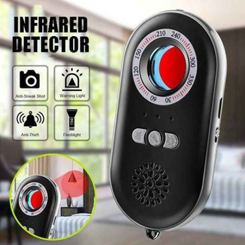 Alarm Flashlight Anti-theft Mini Home Infrared Detector Multifunctional Surveillance Hotel Portable Anti-spy Monitor Camera