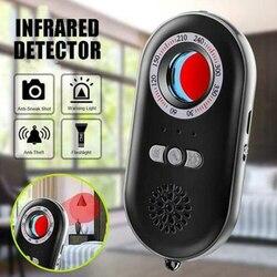 Alarm latarka antykradzieżowy Mini domowy czujnik podczerwieni wielofunkcyjny nadzór hotelowy przenośna kamera monitorująca anty-szpiegowska