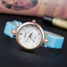 Montre reloj forma femenina de moda de Corea de las mujeres oval dial reloj pulsera estrella colgante reloj de cuarzo para mujer Caliente