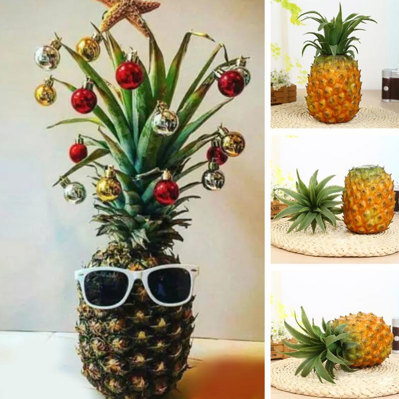Funny Christmas Pineapple Tree Simulated Pineapple Fruit