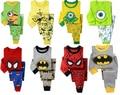 Retail! Kids Christmas Pajamas Baby Minions Pyjamas Children Christmas Sleepwear Boys Despicable me Pijamas Girls Nightwear