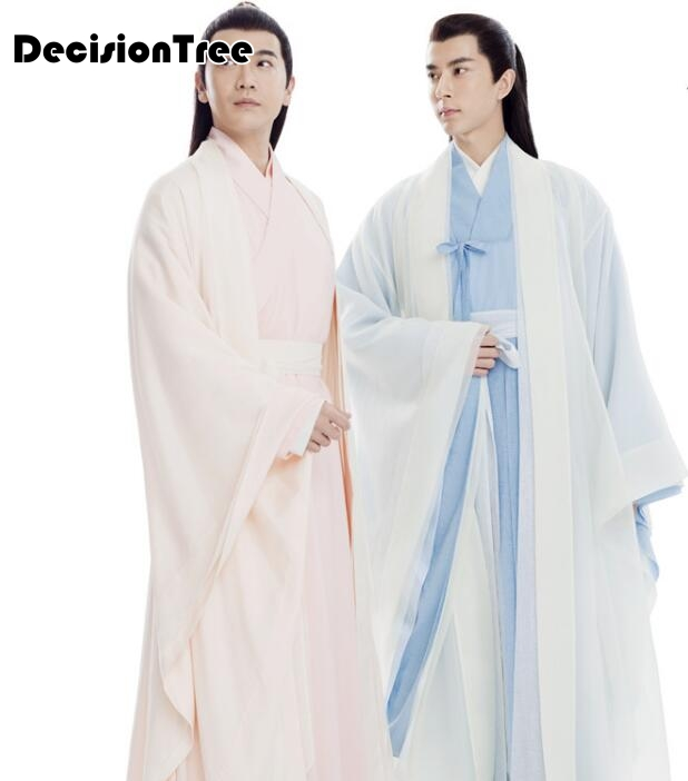 Show details for 2019 men ancient costume male chinese folk dance costume adult chinese national stage cospaly tang clothing women hanfu