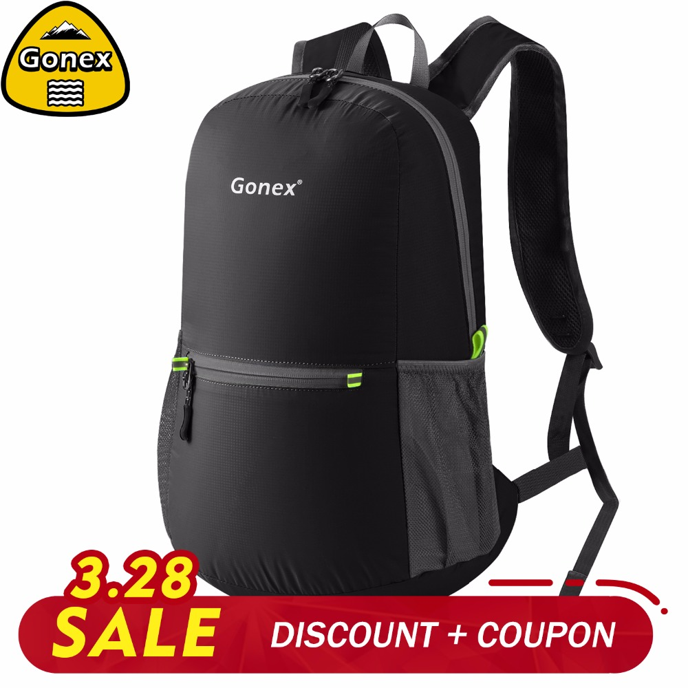 7a093d5401 Detail Feedback Questions about Gonex 20L Travel Backpack Packable School  Shoulder Bag Lightweight Foldable Rucksack for Outdoor Camping Hiking  Family ...
