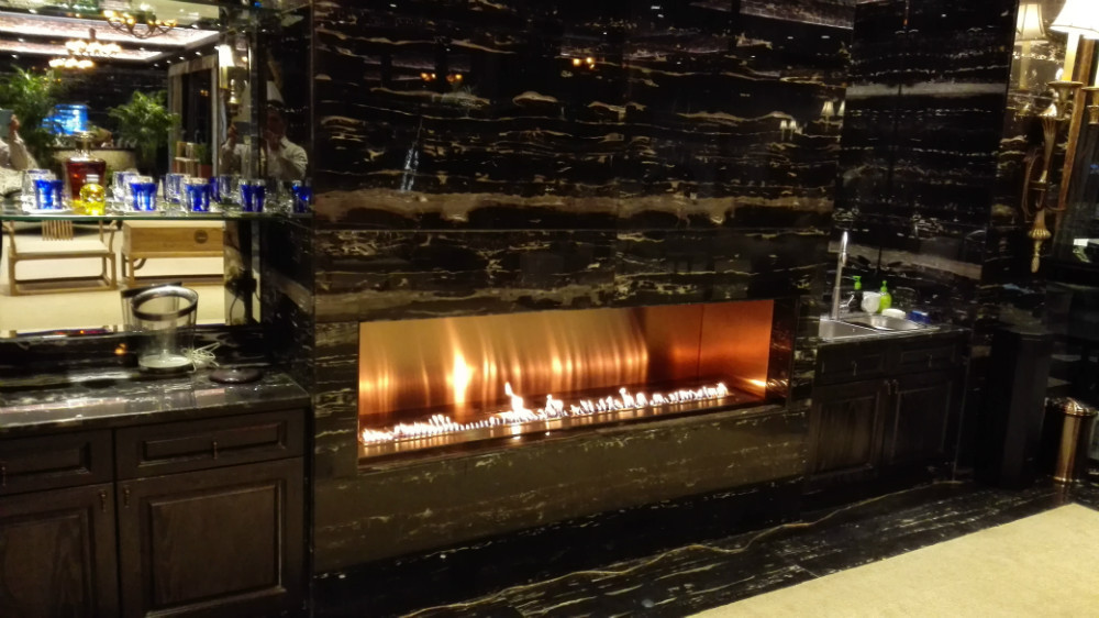 On Sale Fireplace Insert With 48 Inch Ethanol Burner Smart Control Fireplace Ethanol
