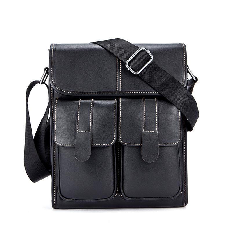 Mode Messenger sac hommes sac à bandoulière en cuir véritable petit homme sacs à bandoulière pour Messenger hommes sacs en cuir sacs à main