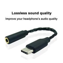 цена на PIZEN USB Type C to 3.5mm headphone jack adapter aux audio converter Audio USB C Adapter for HTC XIAOMI HUAWEI ONEPLUS NOKIA
