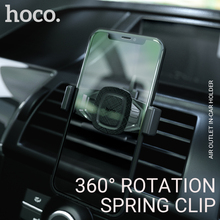 hoco car mount phone holder air vent clip bracket grip all in one cell for cradle iphone 6 7 x universal